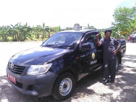 Desa Tirtohargo siaran PBB keliling