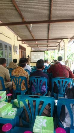 Koordinasi Dinas Pertanian DIY dan PSDA