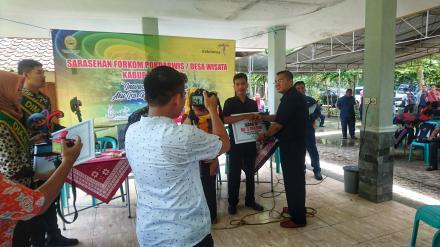 Desa Wisata Mangrove Baros Juara III Desa Wisata Kabupaten Bantul 2018