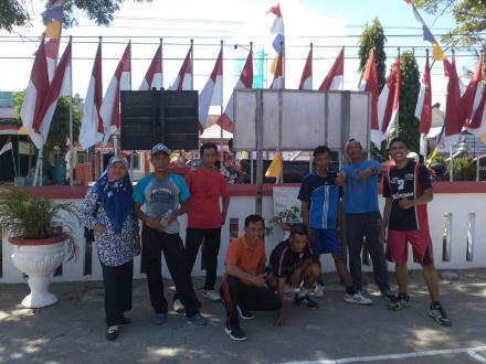 Tim Bola Voli Desa Tirtohargo Juara I tingkat Kecamatan Kretek