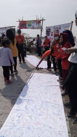 Deklarasi damai pemilu di Kecamatan Kretek